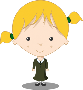 St Lawrence Primary School - girl pupil
