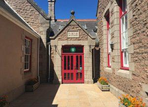 St Lawrence School Entrance